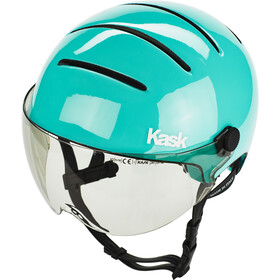 Kask Lifestyle Cykelhjelm inkl. visir, light blue